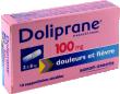 Doliprane 100 mg, suppositoire pediatrique